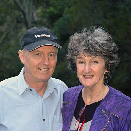 Lyndall and Dave Parris