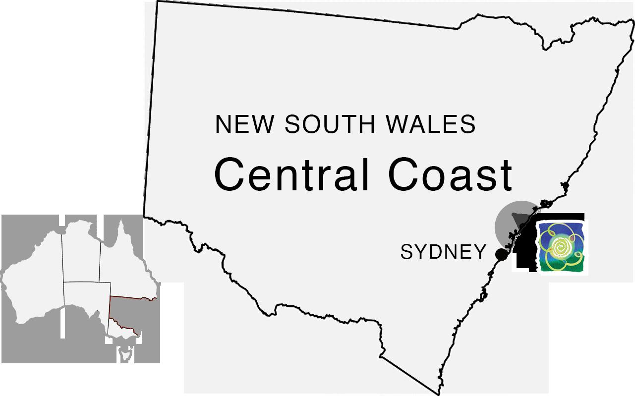Central Coast NSW Australia