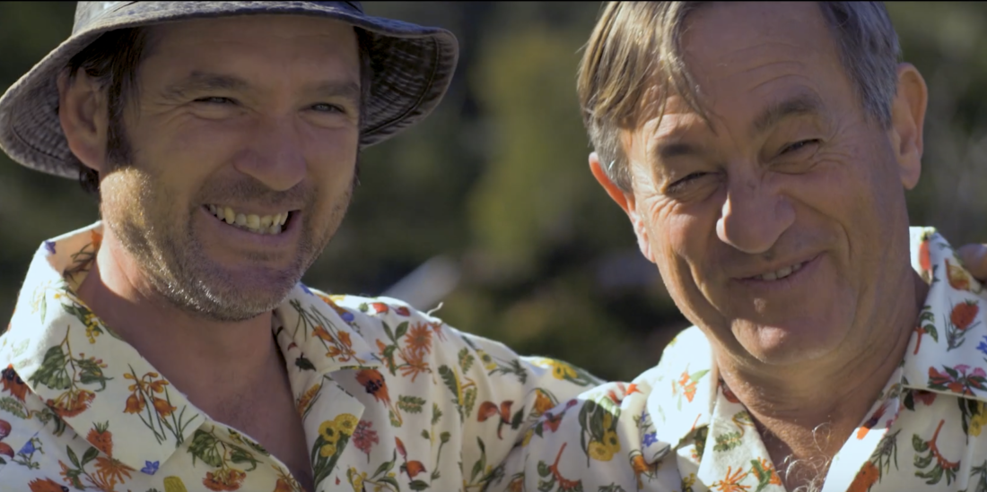Angus Stewart and Tino Carnevale From ABC's Gardening Australia