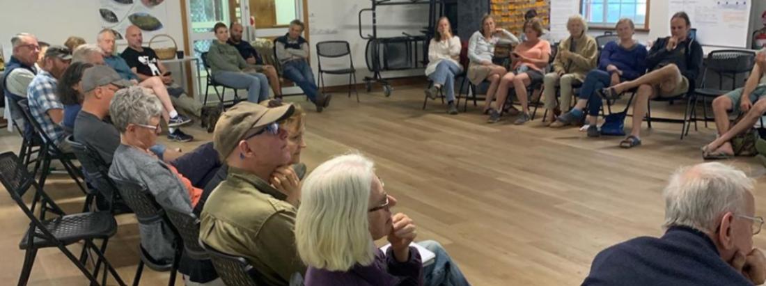 people having a meeting